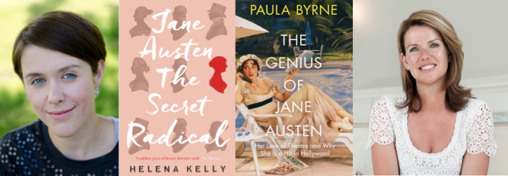 Jane Austen authors and book covers v2