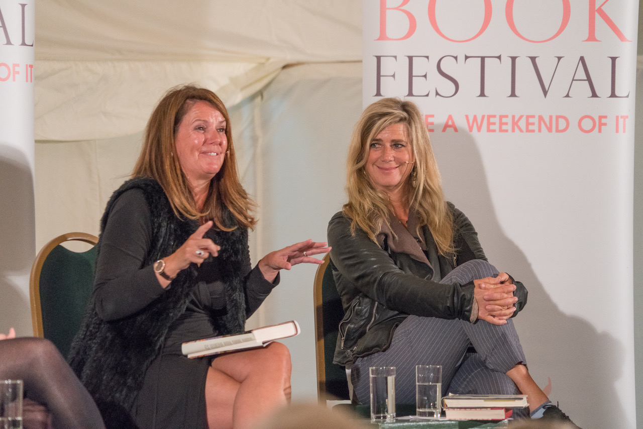 Paula Byrne & Imogen Stubbs at An Evening with Jane Austen